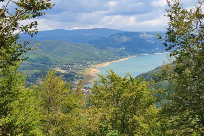А photo of Mavrovo lake